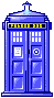 TARDIS coming and going by Psychotic-Carp