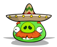 Mexican Mustache Pig by ChinZaPep