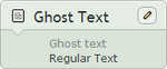 Ghost Text by ChinZaPep