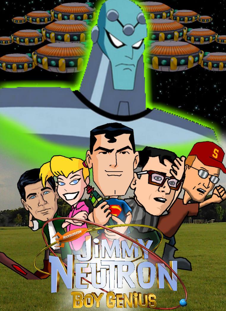 jimmy neutron poster revamp by bearquarter2008 on deviantart