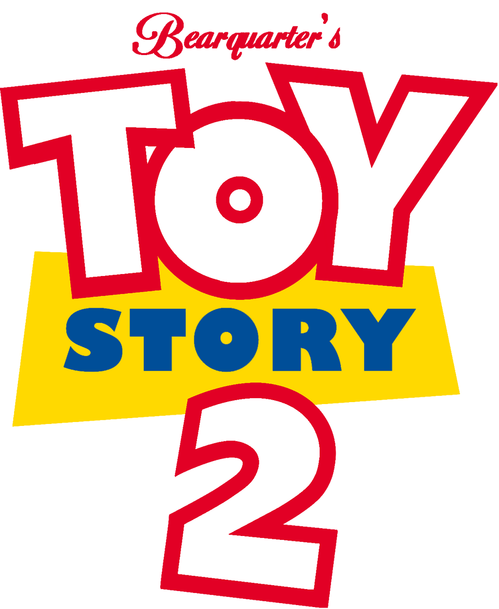 bearquarters toy story 2 logo 2016 by bearquarter2008