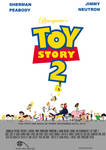 Bearquarter's Toy Story 2 Theatrical Poster