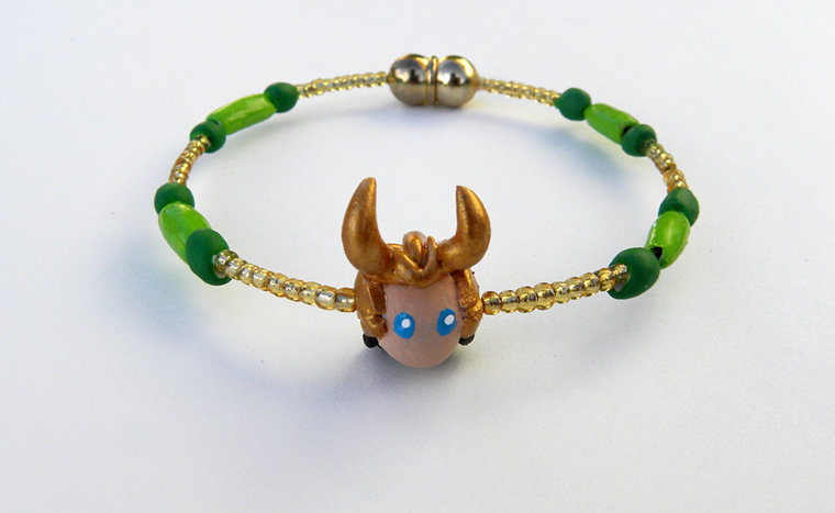 Loki Bracelet by Sugar-Bolt on DeviantArt