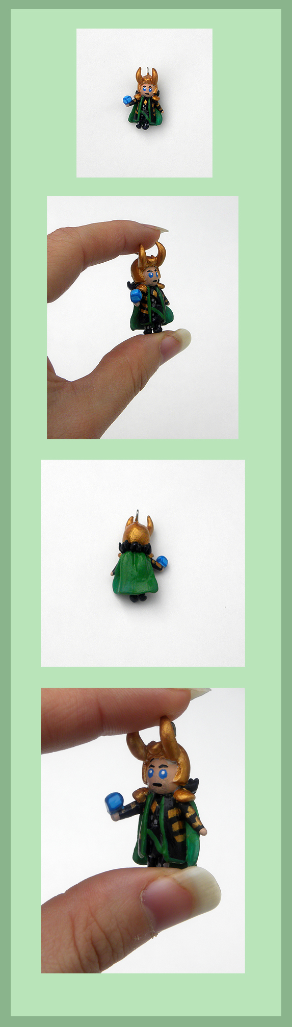 Loki Charm by Sugar-Bolt