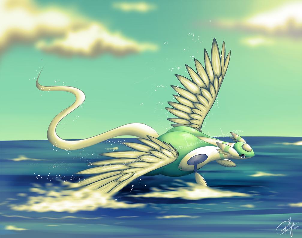 Summer Flight by Ruolina