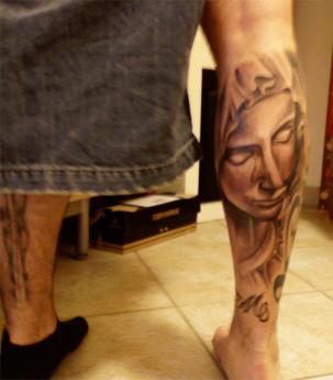 Holy mary tattoo by tresch84 on deviantart for Holy mary tattoo