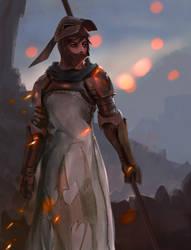 FF Tactics- Lancer by Xaimn