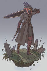 Bloodborne Hunter by Xaimn