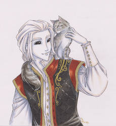 Ledsen and the Cat