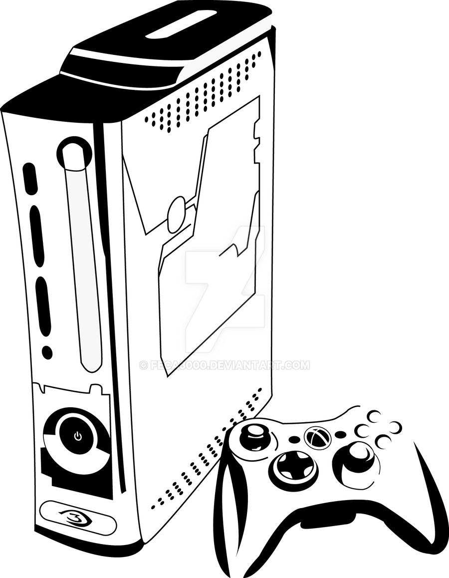 xbox360 halo edition synthesis by feca3000 xbox360 halo edition synthesis by feca3000 - Pittsburgh Pirates Coloring Pages