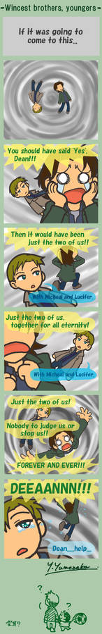 Wincest brothers: the youngers
