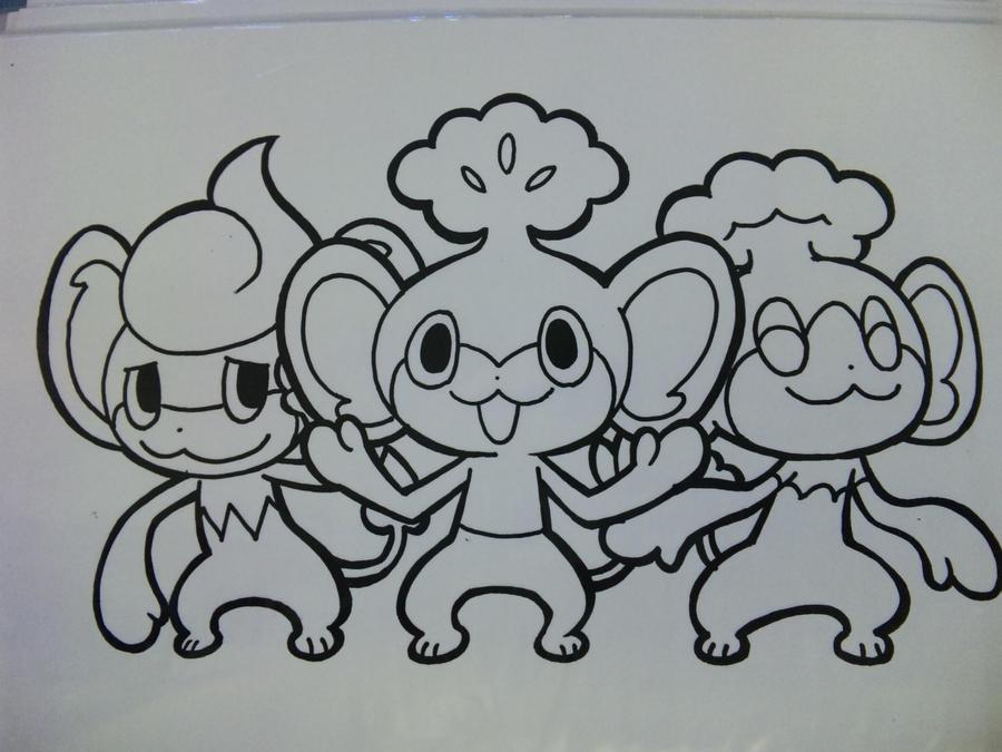 pokemon coloring 7 by yumezaka