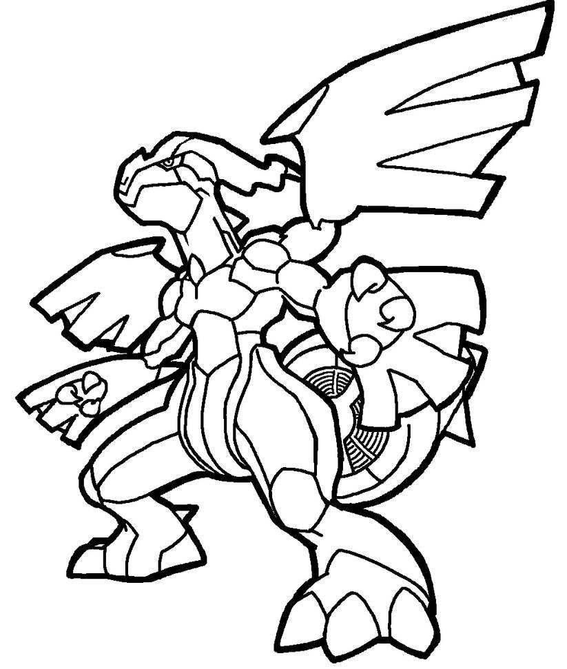 zekrom ex coloring pages | Zekrom lineart by Yumezaka on DeviantArt