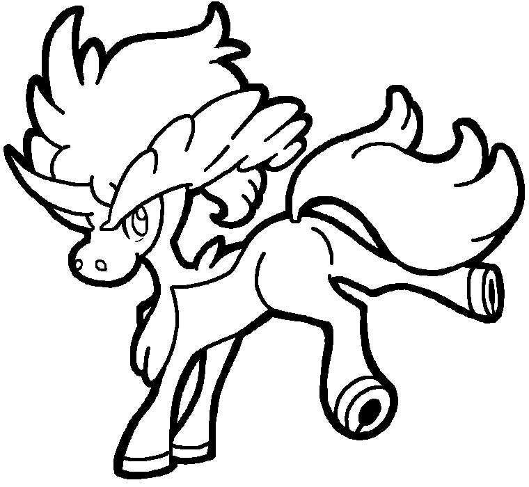 pokemon keldeo coloring pages - photo#1