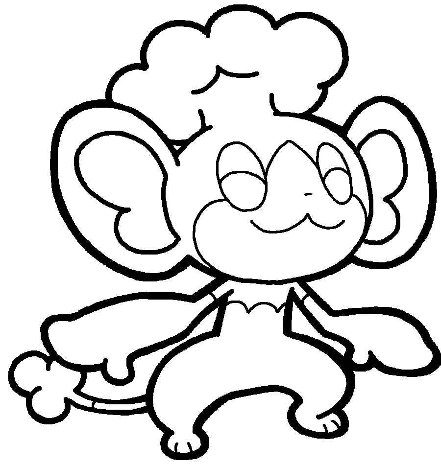 pokemon simisear coloring pages photo21