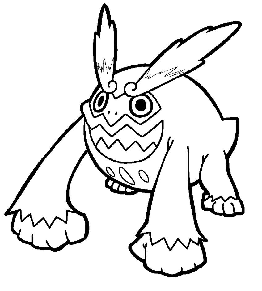 noivern pages coloring pages