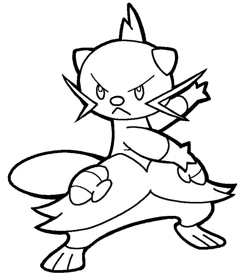 samurott pokemon coloring pages   Samurott Coloring Pages Coloring Pages