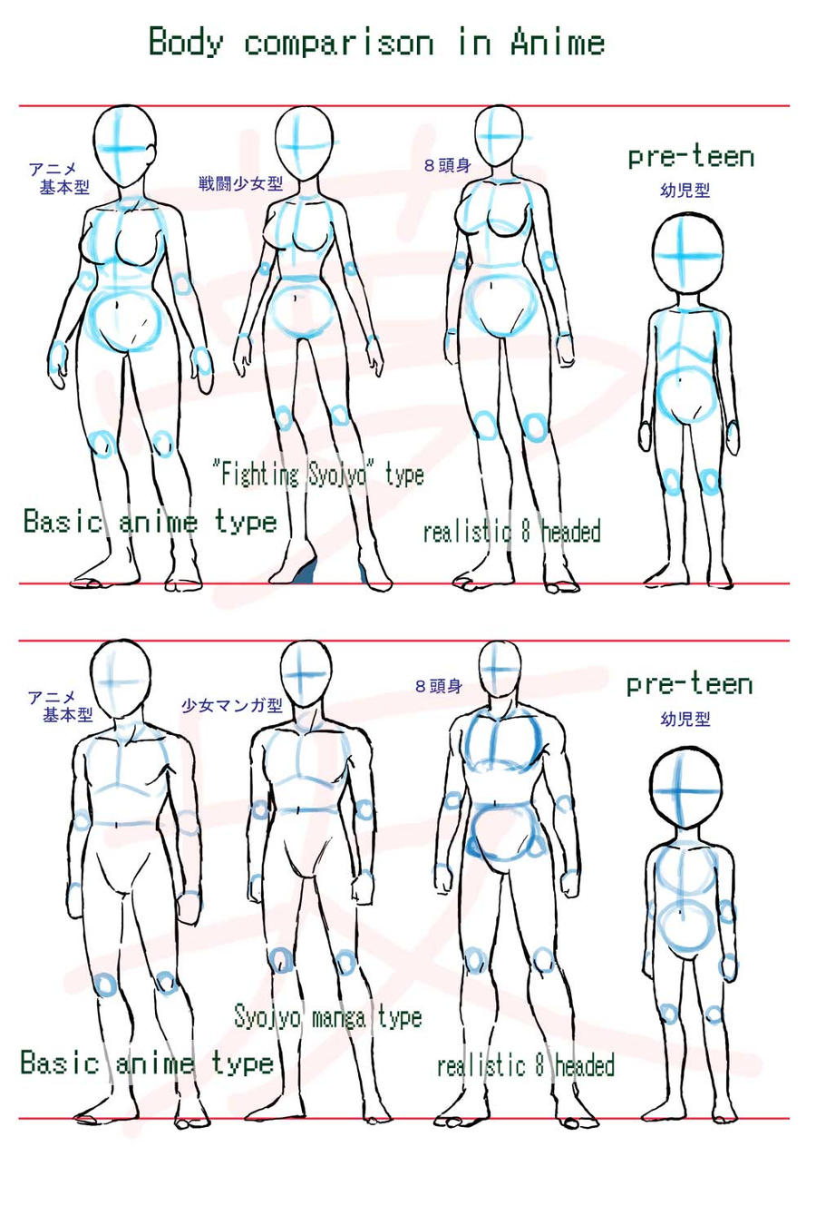 Anime Female Body | New Calendar Template Site