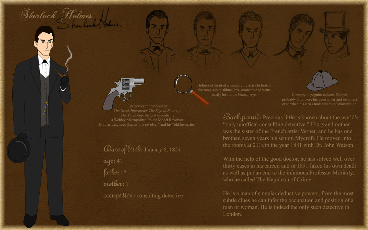 Sherlock Holmes By Silvre On DeviantArt