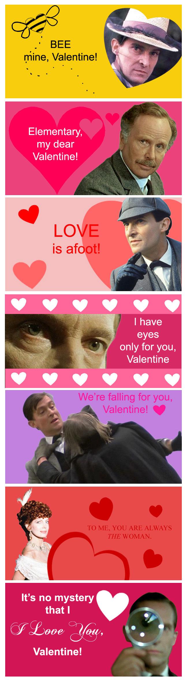 Sherlock Holmes Valentines By Silvre Sherlock Holmes Valentines By Silvre