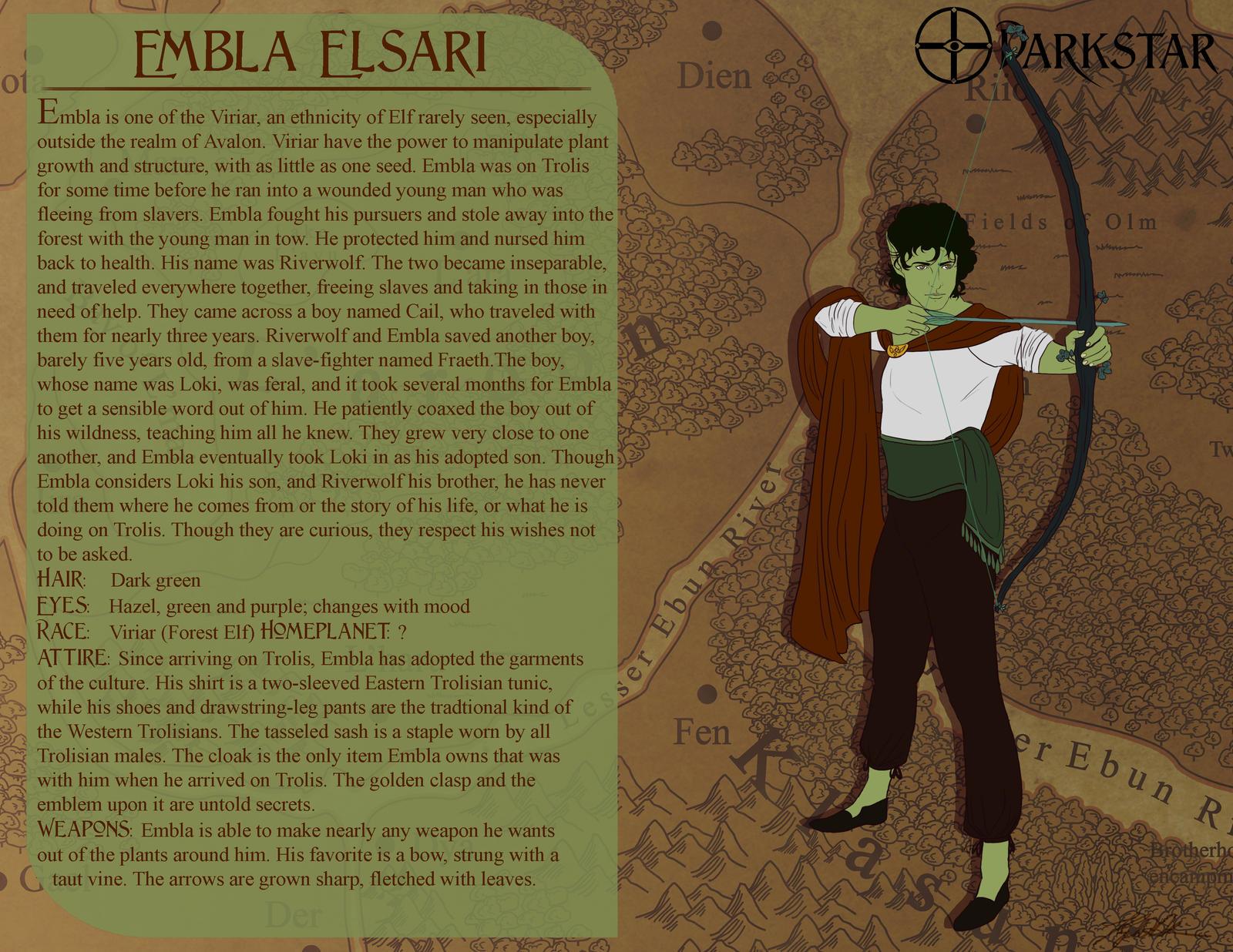 Darkstar Profiles: Embla Elsari by Silvre