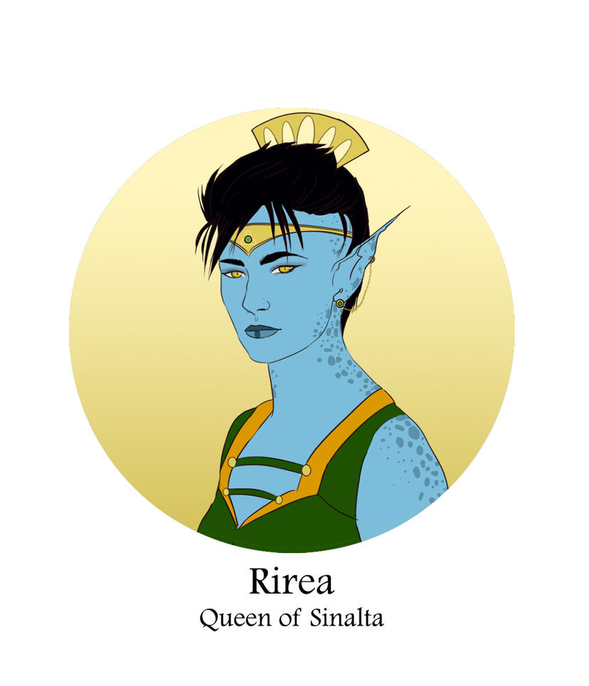 Family Tree Detail - Queen Rirea by Silvre