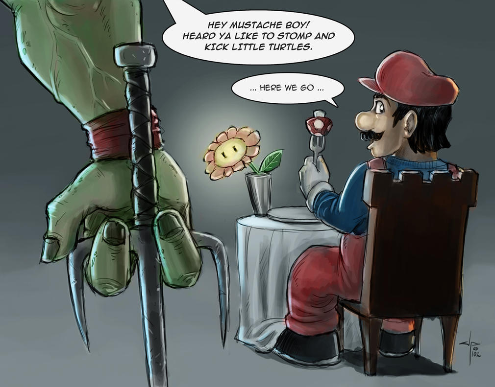 Mario Learns the Meaning of Karma by jpzilla
