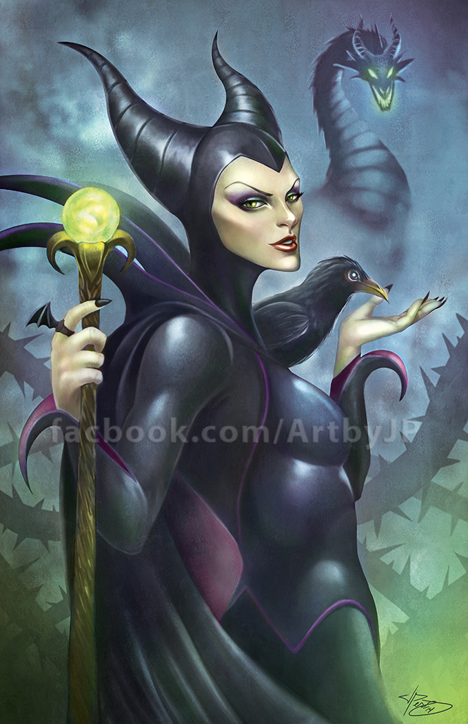 Maleficent by jpzilla