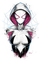 Spider-Gwen by jpzilla