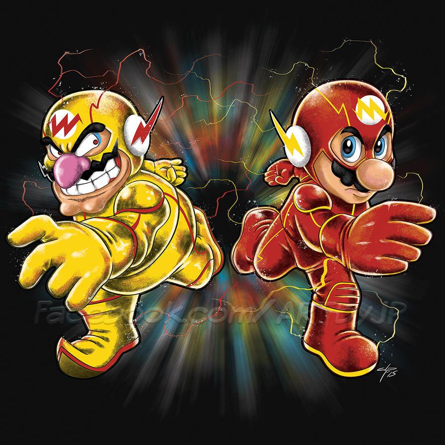 Super Flashy Rivals by jpzilla