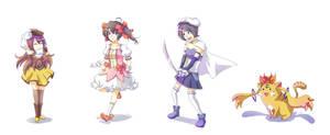 Some Touhou Magicas