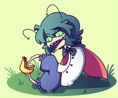 wriggle wriggle my lil caterpillar by J5-daigada