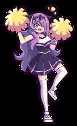 Commish - Cheerleader Camilla by J5-daigada