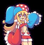 Commish - Clown Flonne