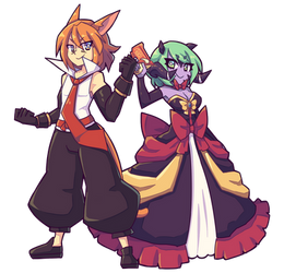 Commission - X'elo and Forta