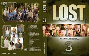 Lost - Season 3 DVD Cover by chucksc
