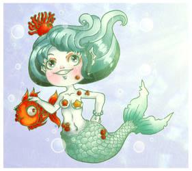 Little mermaid by Soan-c