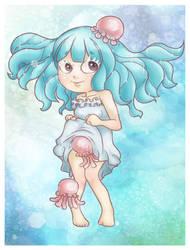 Jellyfishgirl by Soan-c
