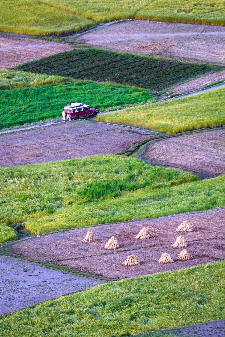 Fields Of Shimshal by ZaGHaMi