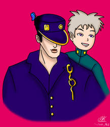 Jotaro and the Most Reliable Guy He Ever Met