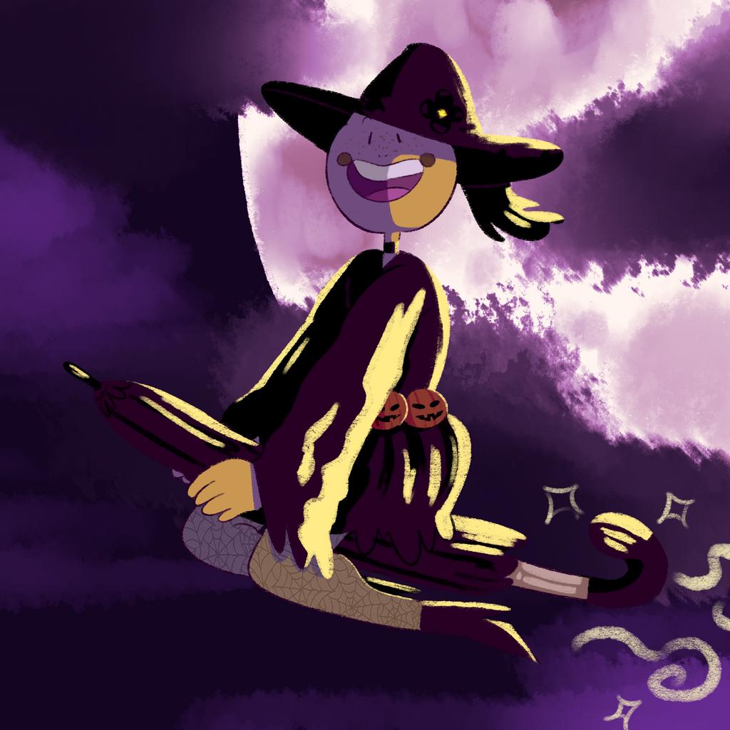 Witch Daisy! by KatsLoveSalmon