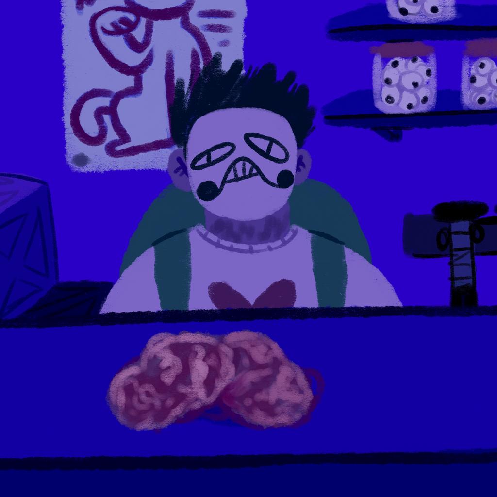 Day 17- Meat by KatsLoveSalmon