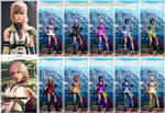 [SFV REQ MOD]Falke as Lightning Final Fantasy XIII