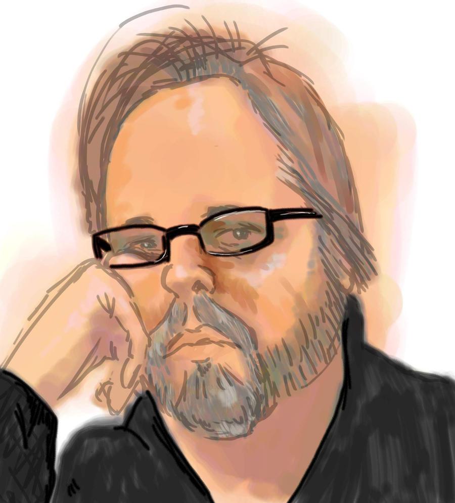 Self Portrait Doodle by Pylo