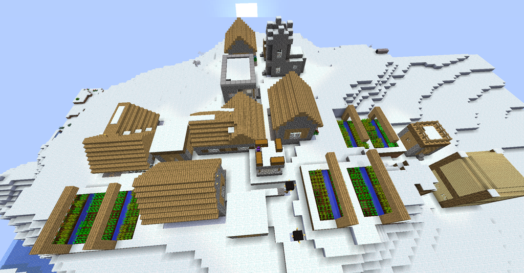 Glacier Village by Tape-City