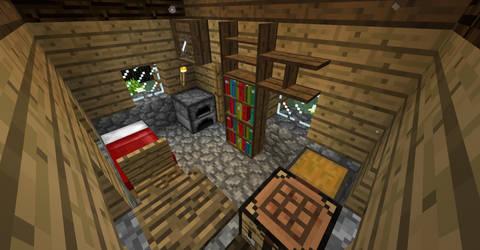 Rail-X5: Small Abandoned Cabin - Inside