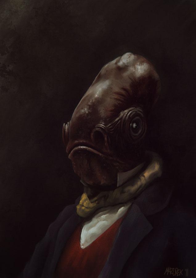 Mr. Ackbar by NilfheimSan