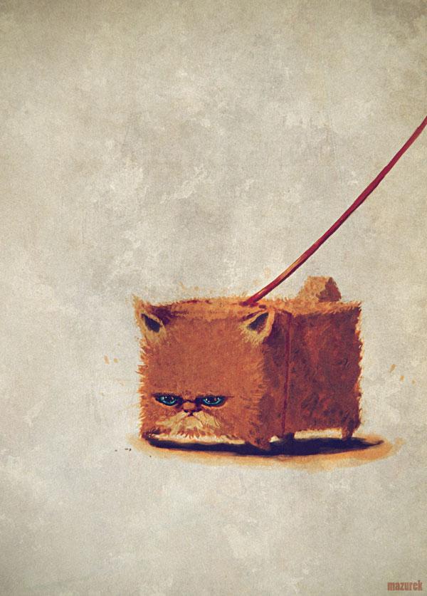 The cat by NilfheimSan