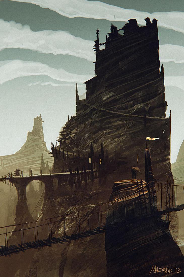 a mountain by NilfheimSan