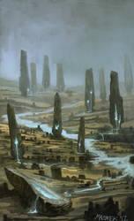 monuments by NilfheimSan